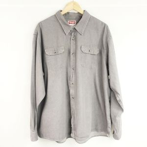Wrangler Button Down Long Sleeve Shirt